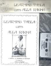 Learning Tabla with Alla Rakha-Book & Cassette