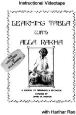 Learning Tabla with Alla Rakha-Book & Videotape