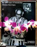 The Tabla Legacy of Taranath Rao-Book
